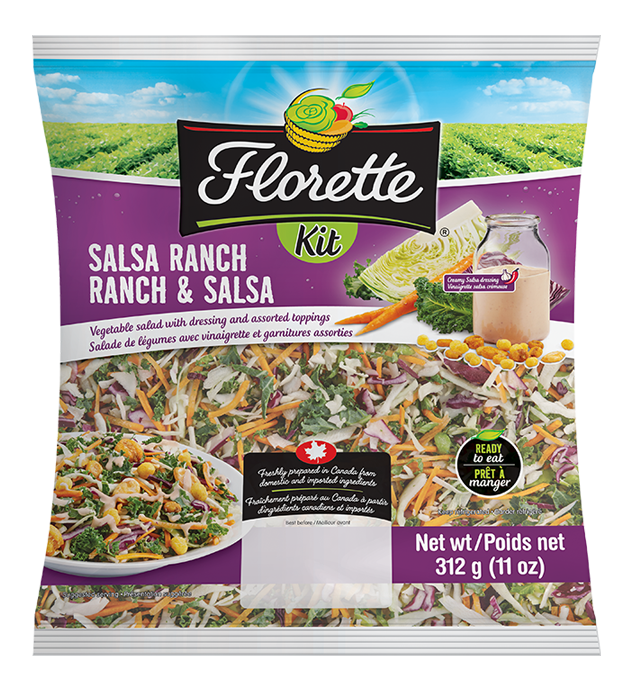 Ensemble de salade Ranch & Salsa